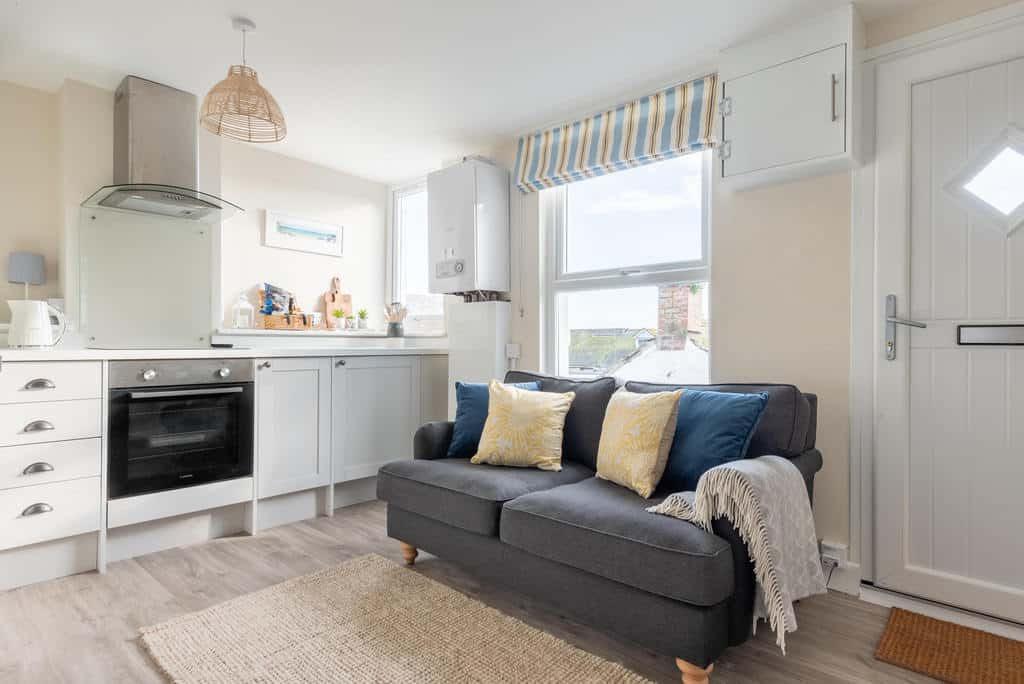 The Little Loft St Ives Living Room