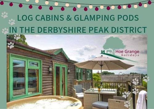 Hoe Grange Dog Friendly Glamping Pods and Log Cabins