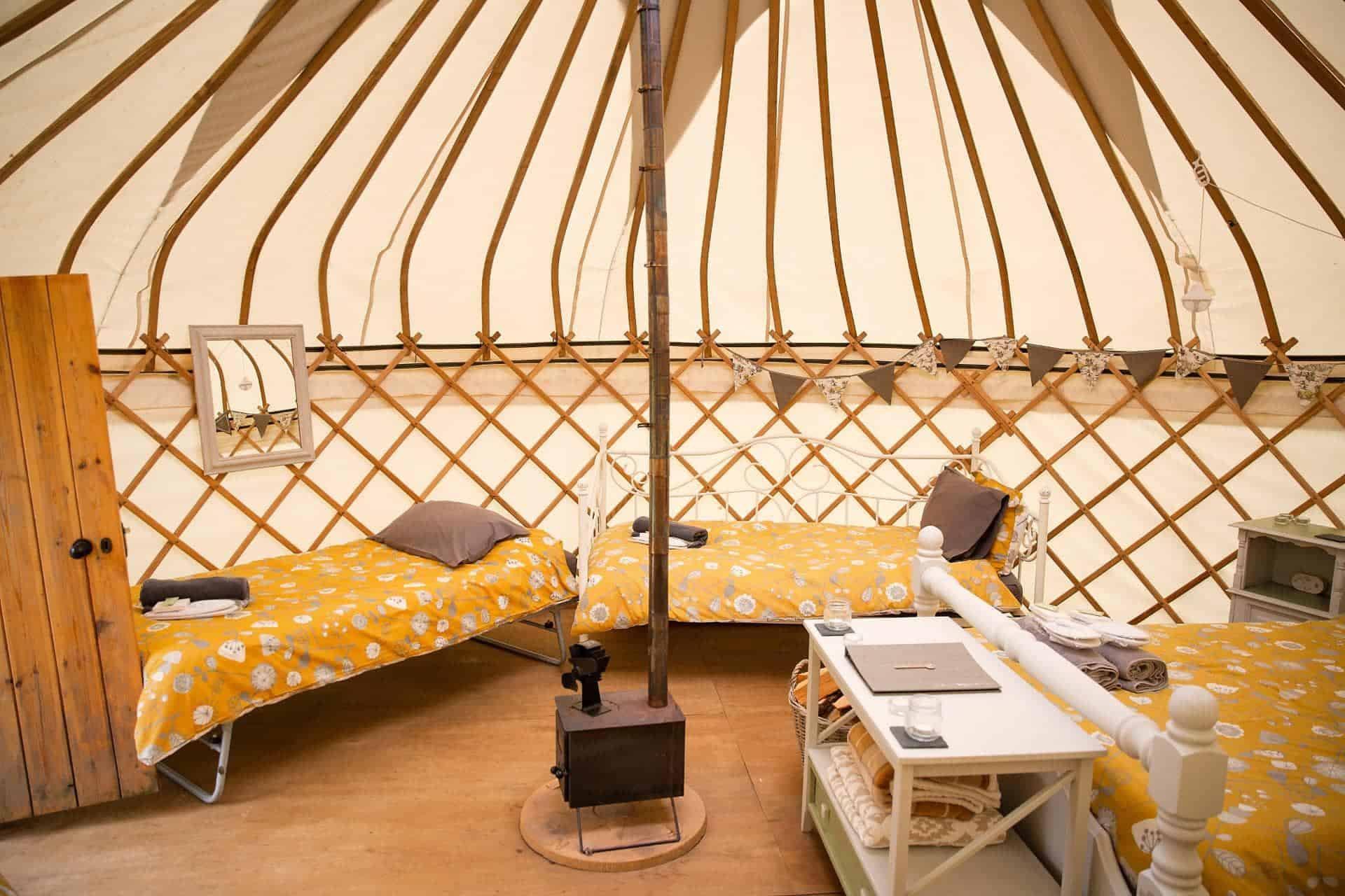 Country Bumpkin Yurts Dog Friendly