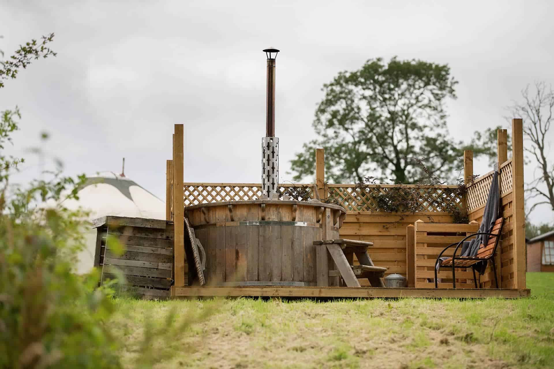 Yurts with Hot Tubs