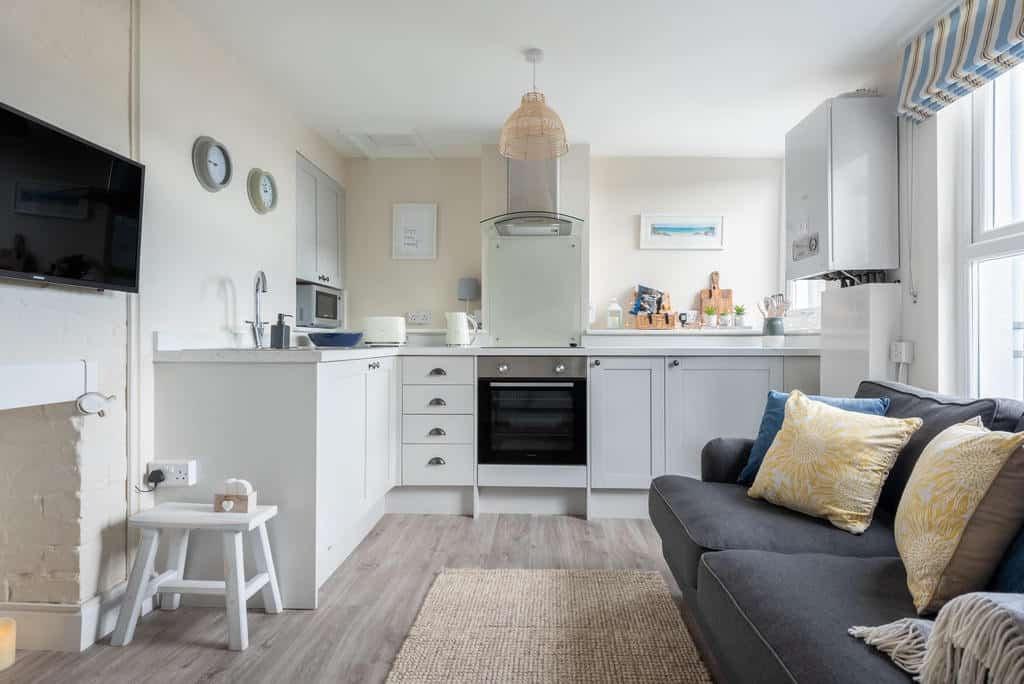 The Little Loft St Ives Living Space